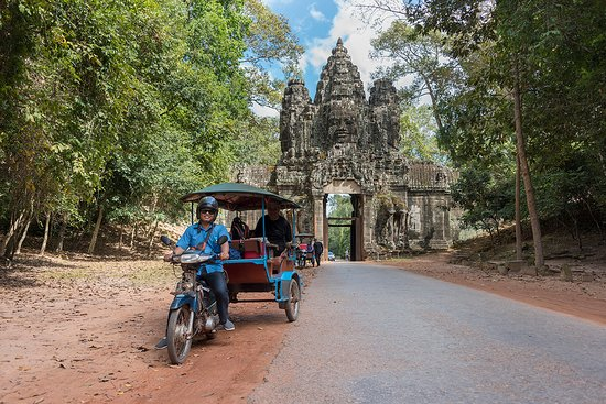 Angkor Dara's Car and Tuk Tuk Tour