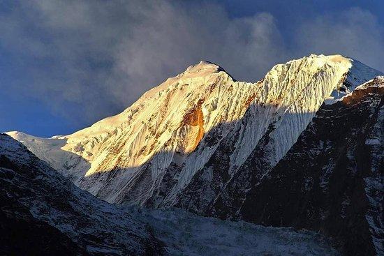 Nepal Trekkers: snow mountain