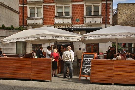 The Porterhouse Covent Garden London Covent Garden Updated 2020 Restaurant Reviews Menu Prices Tripadvisor