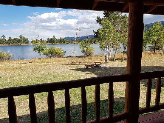 Red Canyon Lodge Cabins: vista dall'alloggio