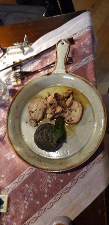Lillo Tatini: Boned rabbit with vegetable flan