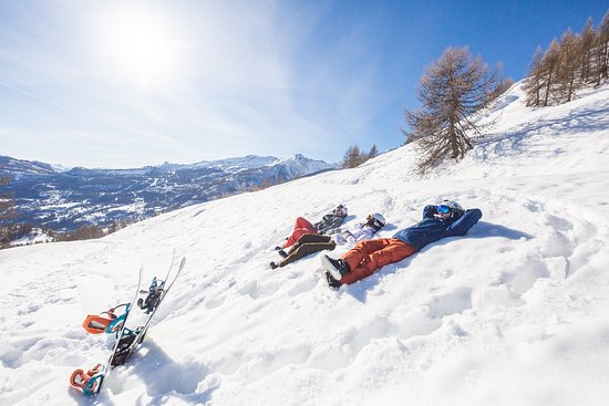 Domaine skiable Pelvoux Vallouise