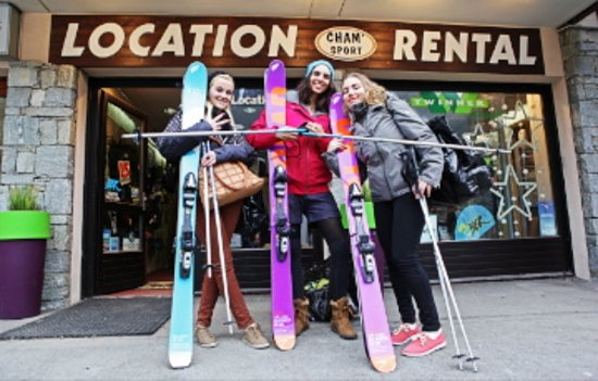 Cham'Sport, 4 ski rental shops in Chamonix Mont Blanc since 1999