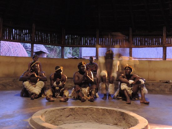 Veyane Cultural Village : Great dances and stick fights