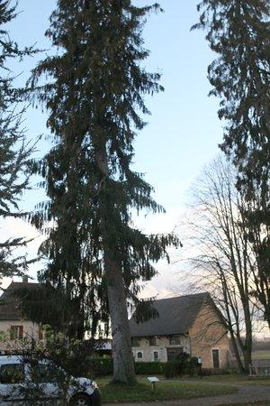 Fragnes Le parc des lauriers se situe prés de l'église Un joli endroit avec des arbres (Panneaux explicatifs) et une aire de jeux pour enfants.