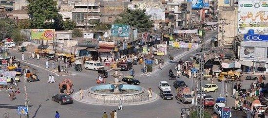 Fawara Chowk Intersection of 6 Bazars