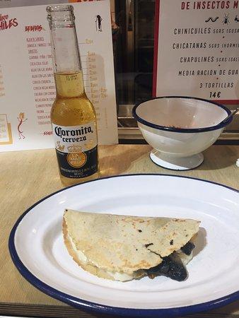 quesadilla de huitlacoche