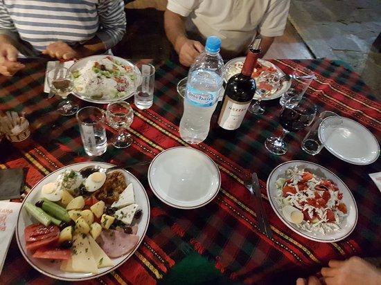 Arbanasi, Bulgaria: il cibo