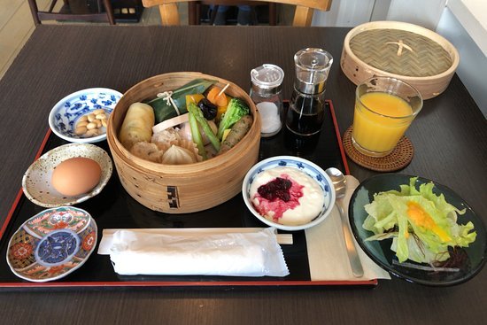 Yanagiya: 朝食