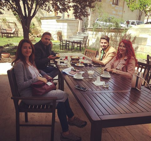 a coffee-break with our guests