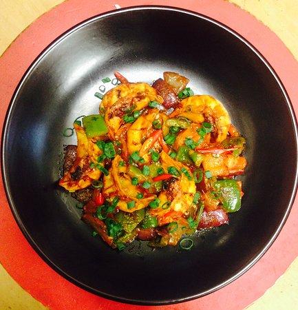 Spicy chilli momo