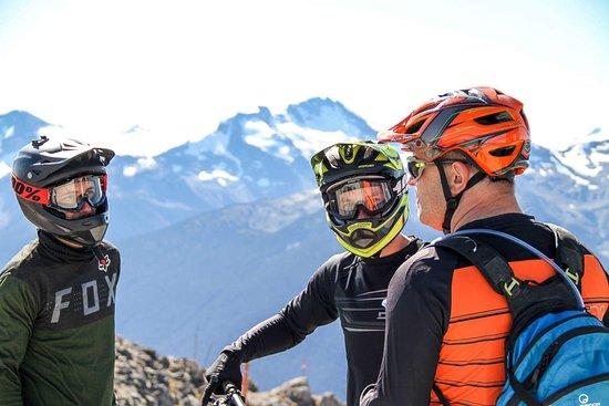 Bike Hike Tours: Top of the world
