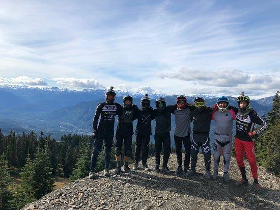 Bike Hike Tours: Dh group BC