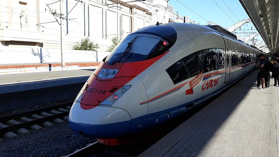 High-Speed Train Sapsan