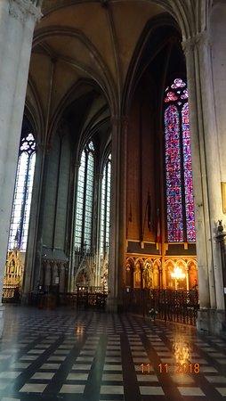 Cathedrale Notre-Dame d'Amiens, ноябрь 2018 года...