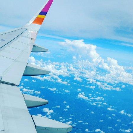 المحيط الهندي: In the air