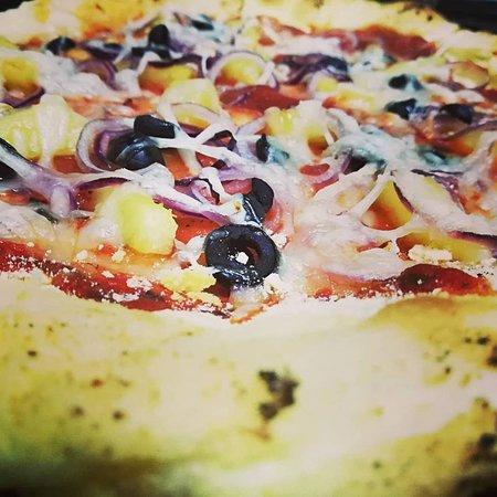 Pizza sem gluten e sem lactose! Apta para celíacos!