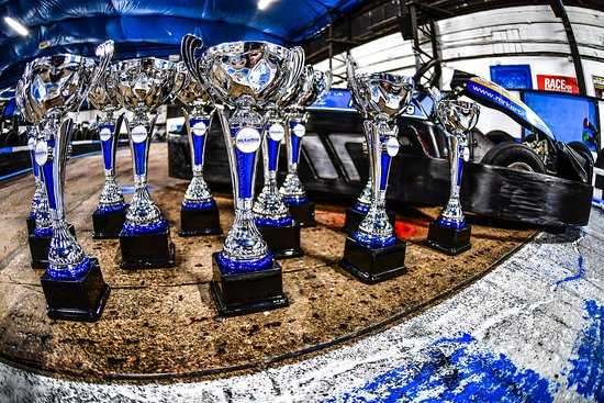Mr Karting: Trophies for our open race events!