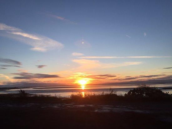 sunrise over Solway in November