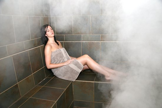 Riverside Spa: Eucalyptus Steam Room