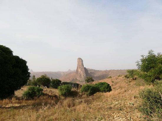 Rhumsiki, Camerún: La reine!
