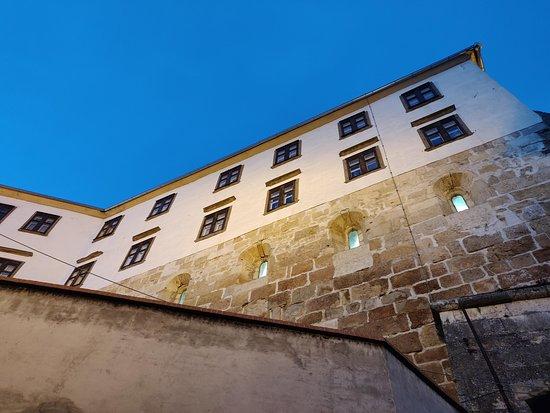 Evening at amazing Ptuj castle