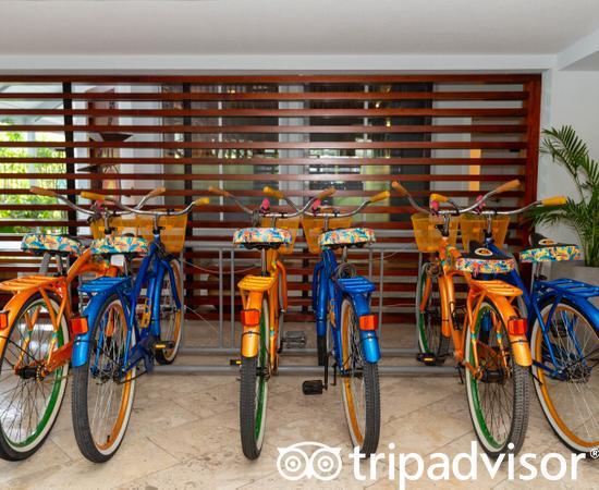 Bikes at the Margaritaville Beach Resort Grand Cayman
