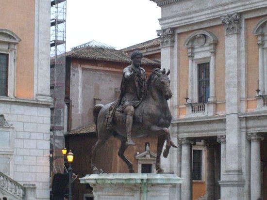 Vista Piazza del Campidoglio, Roma