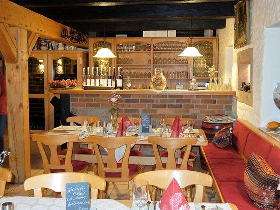 Coswig, Alemania: die gemütliche Gaststube