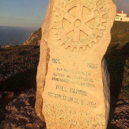 Cabo da Roca: Хорошо, умиротворяюще, но ветрено