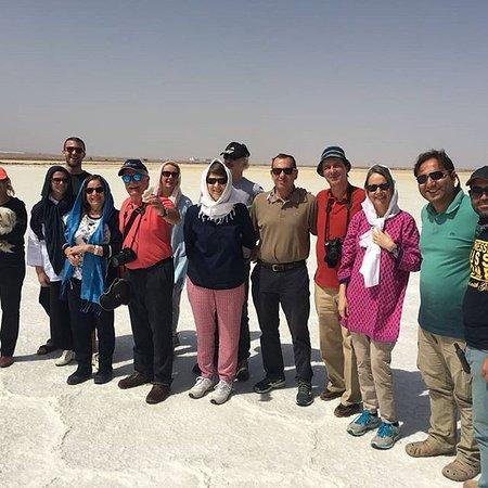 Mesr, Iran: Lago Salato,2018