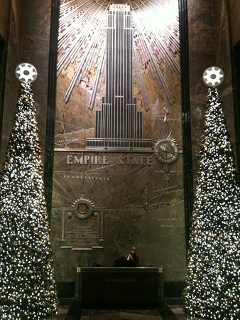 Nueva York, Estado de Nueva York: Xmass in Empire State Building