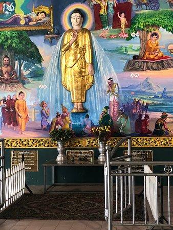Nga Htat Gyi Pagoda: ציור קיר