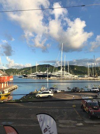 Antigua Yacht Club Marina Resort: View from room 9