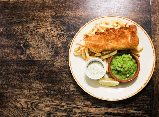 Welsh Beer Battered Fish & Chips
