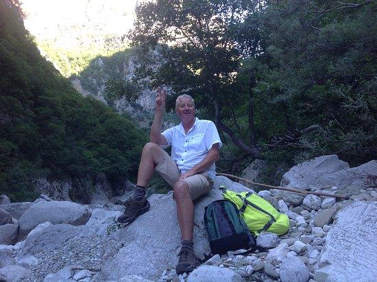 Epirus, Greece: Bottom of Vikos Gorge North Greece