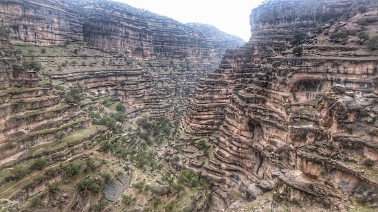I propose you a wonderful day in Shirez Canyon where an amazing and stupendous view is waiting for you. You need to have a local guide to reach there. Kuhdasht, Lorestan province