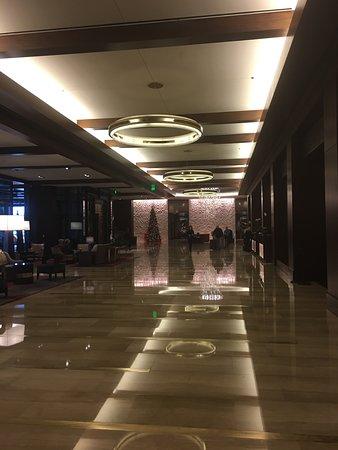 Huge beautiful lobby