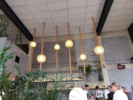High Cathedral Ceiling Given The Right Decor Picture Of Abacus Bar Kitchen Melbourne Tripadvisor