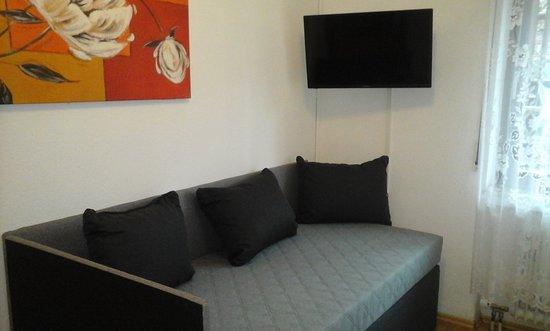 Waldachtal, ألمانيا: das neue Bett für Das Einzelzimmer