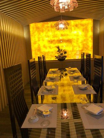 『神社』をイメージした美しい空間 天麩羅とお寿司が美味しい
