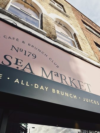 All-Day Breakfast & All-Day Brunch at Battersea Market Café 巴特西