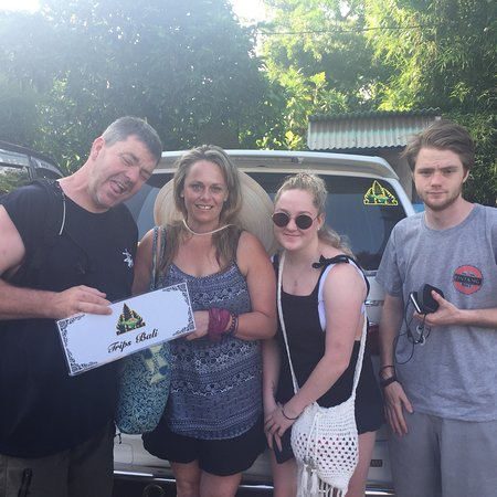 Thank you very much used our service during in Bali Get memorable your holiday with Trips Bali