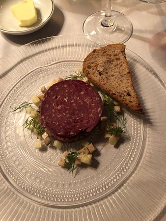 The Witchery by the Castle: Venison Tartare