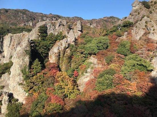 寒霞渓山頂展望台