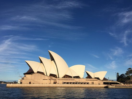 Side view of the Opera house