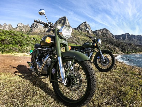Cape Town, Sydafrika: Our Stunning Royal Enfield Bikes