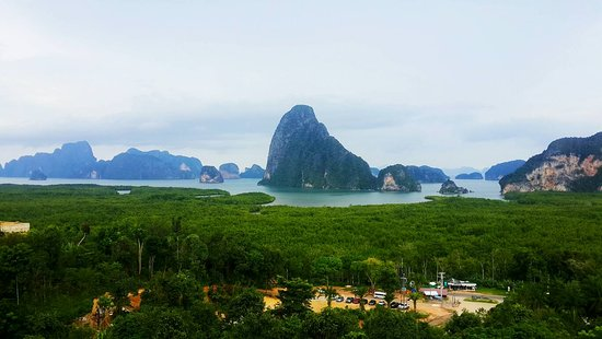 Panorama Seaview with full nature