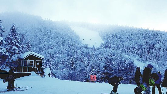 Loon Mountain Resort: Early snow!