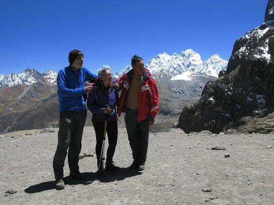 Cordillera Huayhuash: INCREIBLES VISTAS